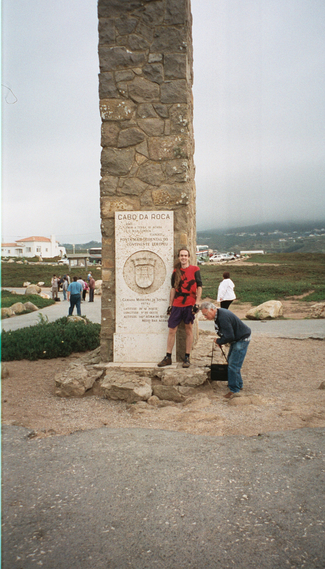 The western-most Adrian in Europe (at Cabo da Roca)
