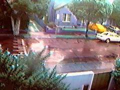 Rain and the webcam